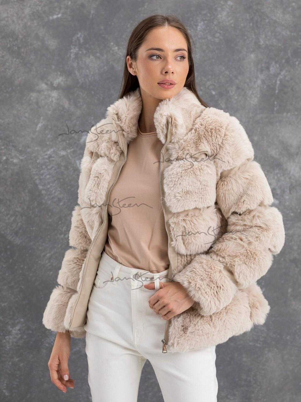 Куртка беж JW21166