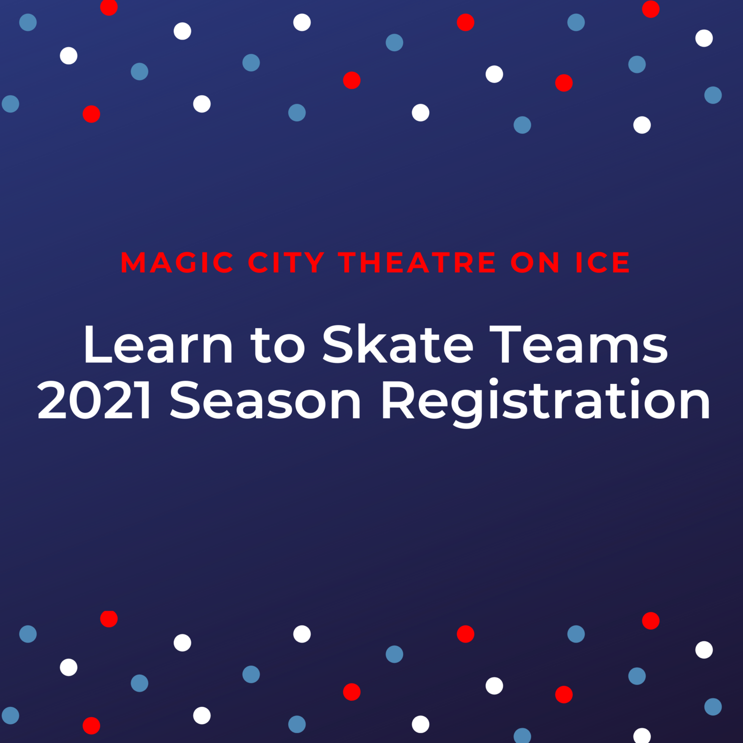 2021 Learn to Skate TOI Registration