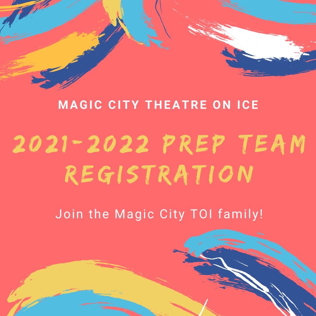 2021-2022 Season Registration (Prep Team)