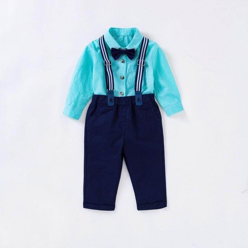 Conjunto Pantalón y Camisa Aqua (4 Piezas)