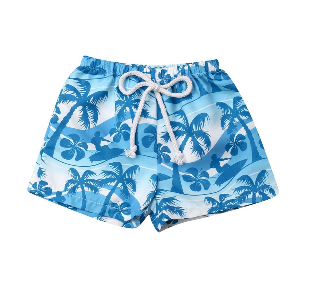 Shorts Playa Blue Palms