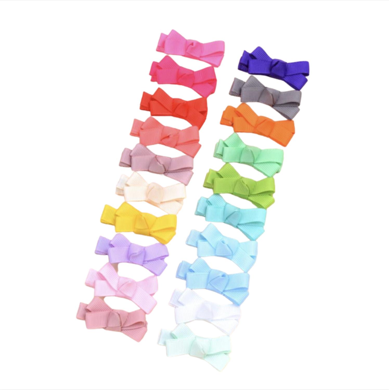 Set de Moños Multicolor Sol Mini (20 Piezas)