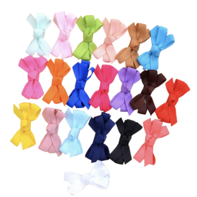 Set de Moños Multicolor Sol Chicos (20 Piezas)