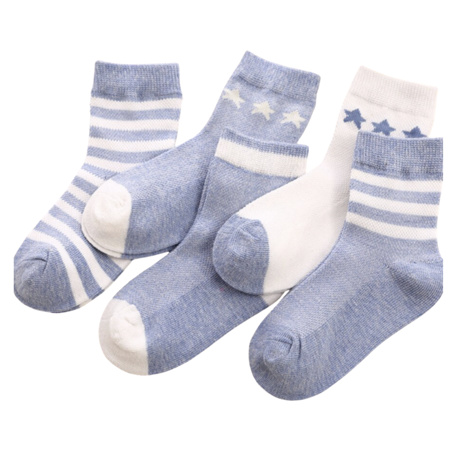 Set 5 Calcetines Azul