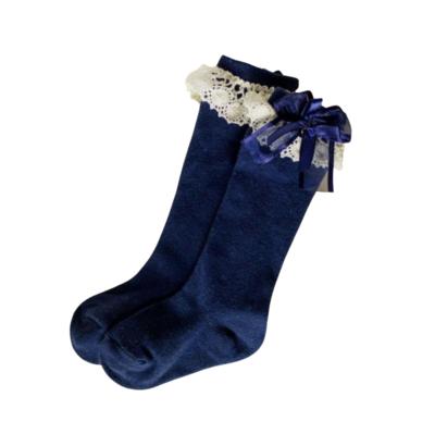 Calcetas Carol Azul Marino