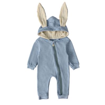 Mameluco Orejas de Conejo Azul