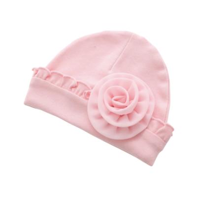 Gorrito Flor Rosa