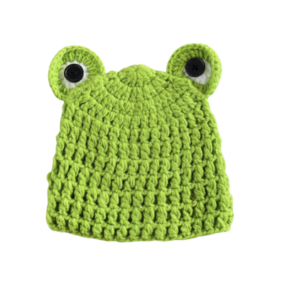 Gorro Ranita Crochet