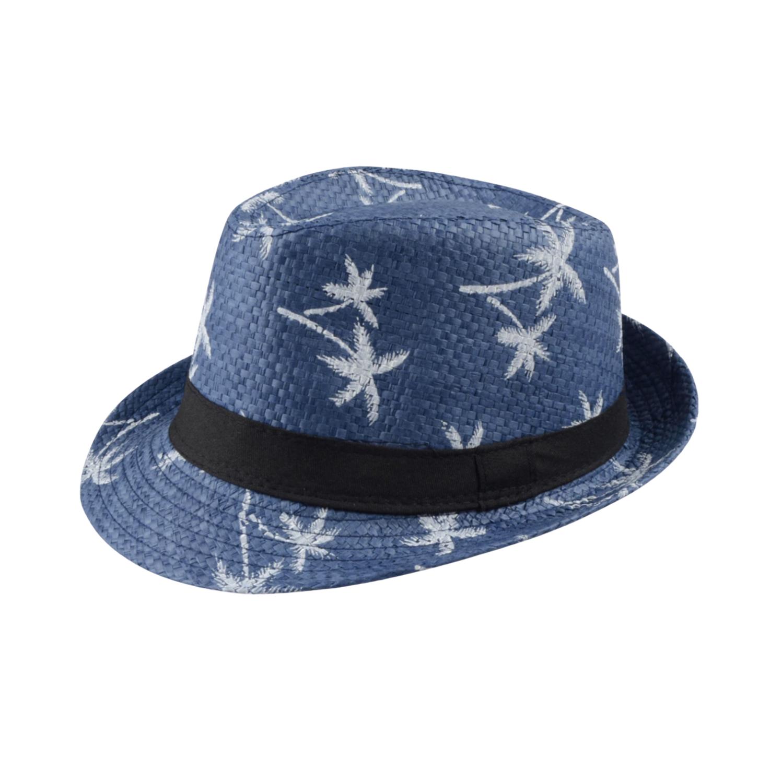 Sombrero Palmas Azul
