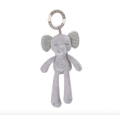 Elefante de Felpa con Mordedera y Sonaja