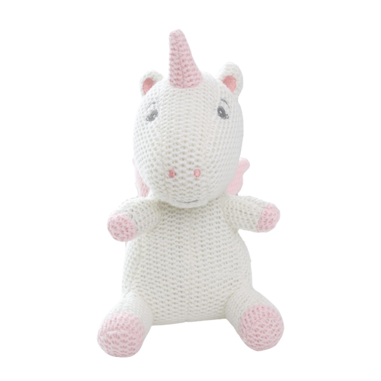 Unicornio Blanco de Crochet