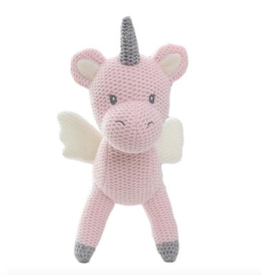 Unicornio Rosa de Crochet
