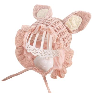 Gorrito Cute Bunny Pink