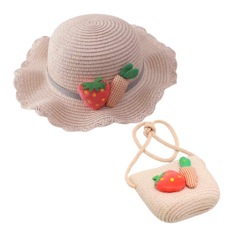 Sombrero Mary con Bolsa Rosa