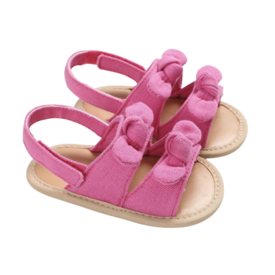 Sandalias Bows Pink