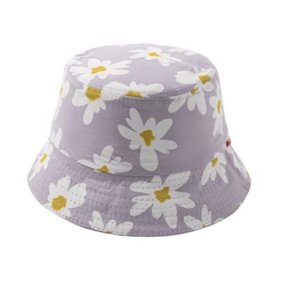 Sombrero de Flores Lila