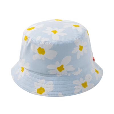 Sombrero de Flores Azul