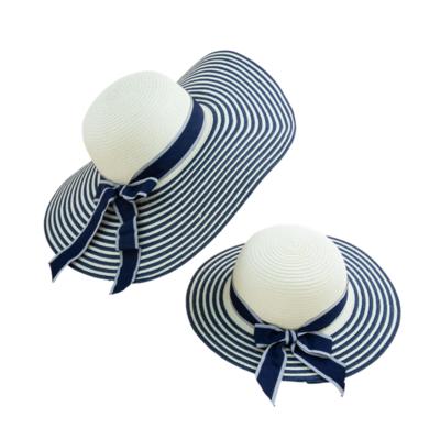 Set de Sombreros Mama e Hija Azul
