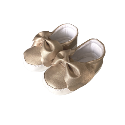Sneakers Bow Gold