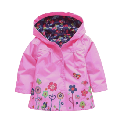 Impermeable Flores Fiusha
