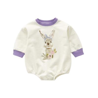 Romper Cute Bunny Blanco