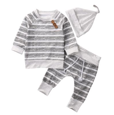 Conjunto Gray Stripes
