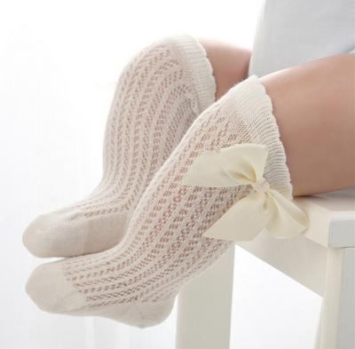 Calcetas Caladas Crema