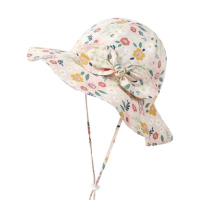 Sombrero Florecitas Durazno