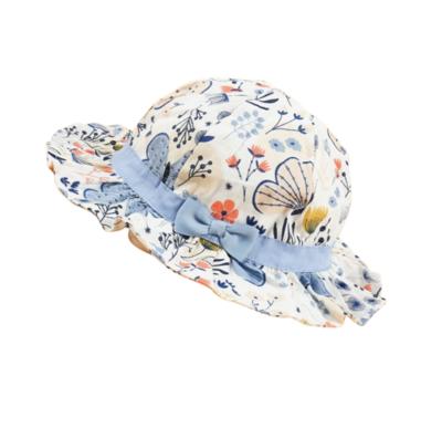 Sombrero Mariposas Azul