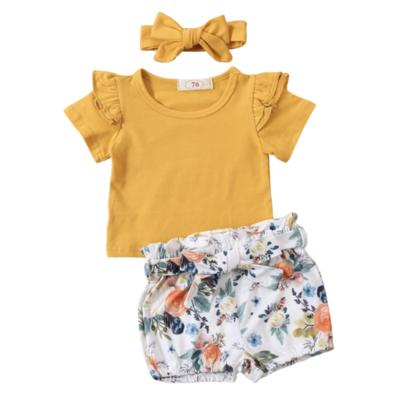 Conjunto Yellow Flowers