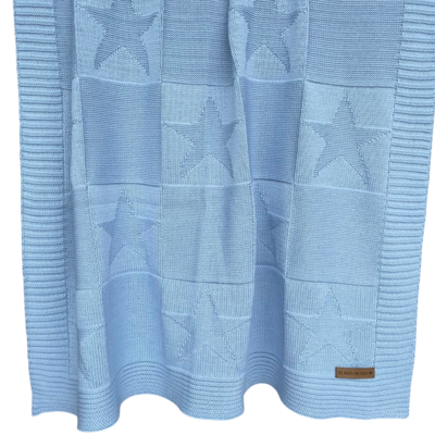 Frazada Estrellas Azul
