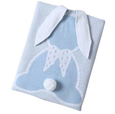 Cobija Conejito Azul