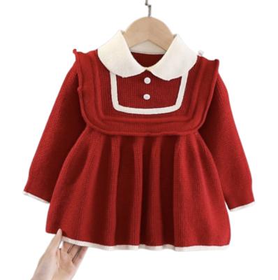 Vestido Tejido Sweet Red