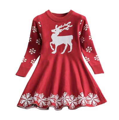 Vestido Red Reindeer