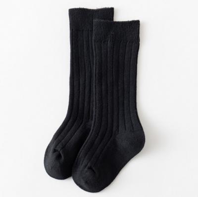 Calcetas a Rayas Negro