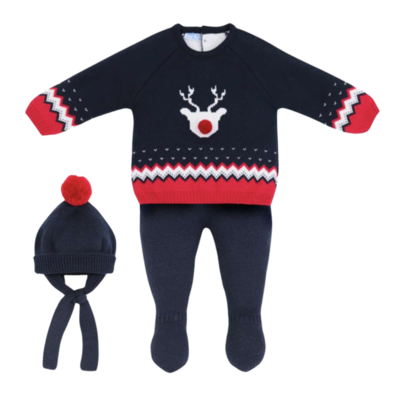 Conjunto Little Red Nose Baby
