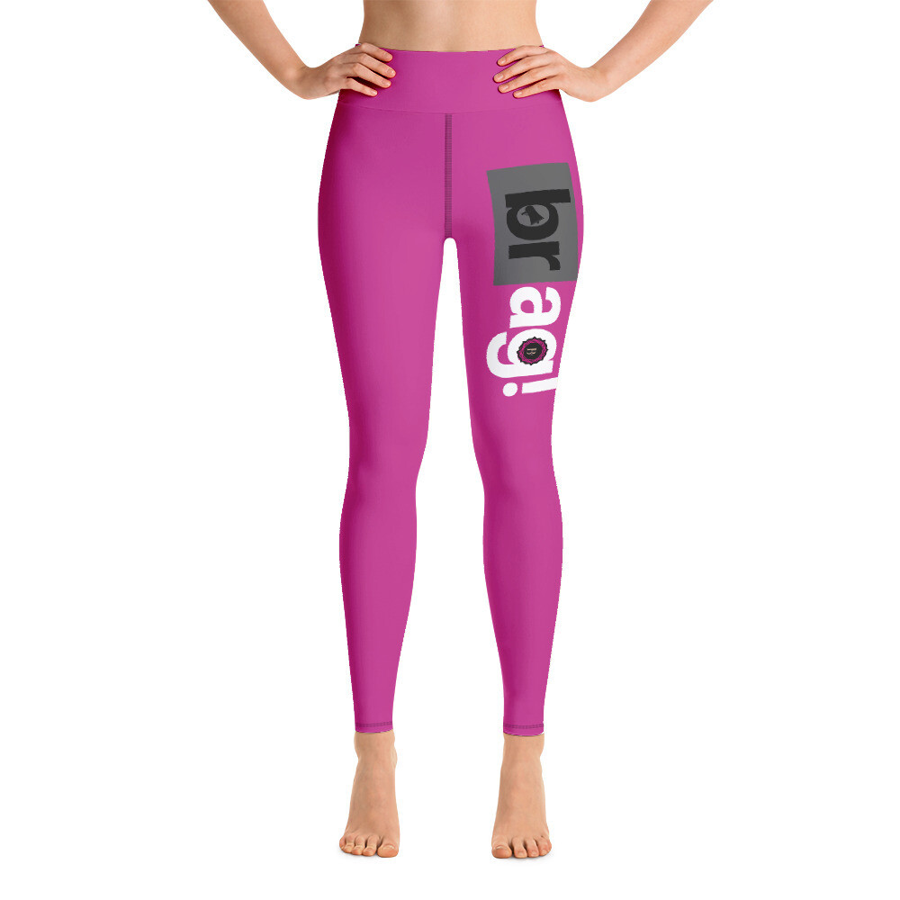 BRAG Basic Pink Yoga Leggings