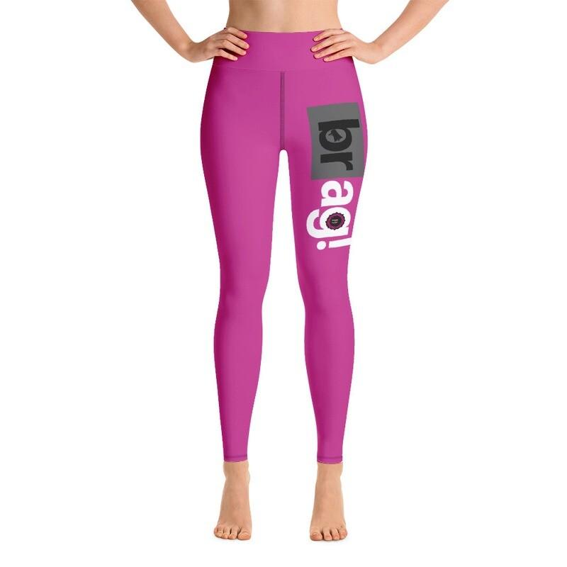 BRAG Basic Pink Yoga Leggings