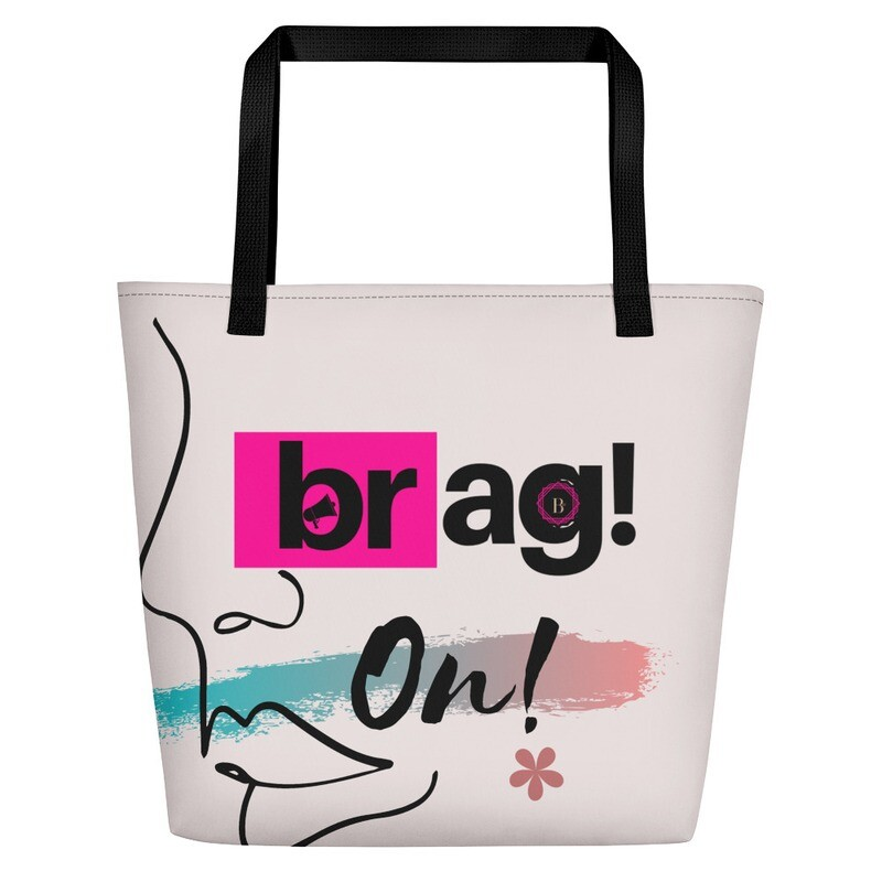 BRAG On Beach Bag