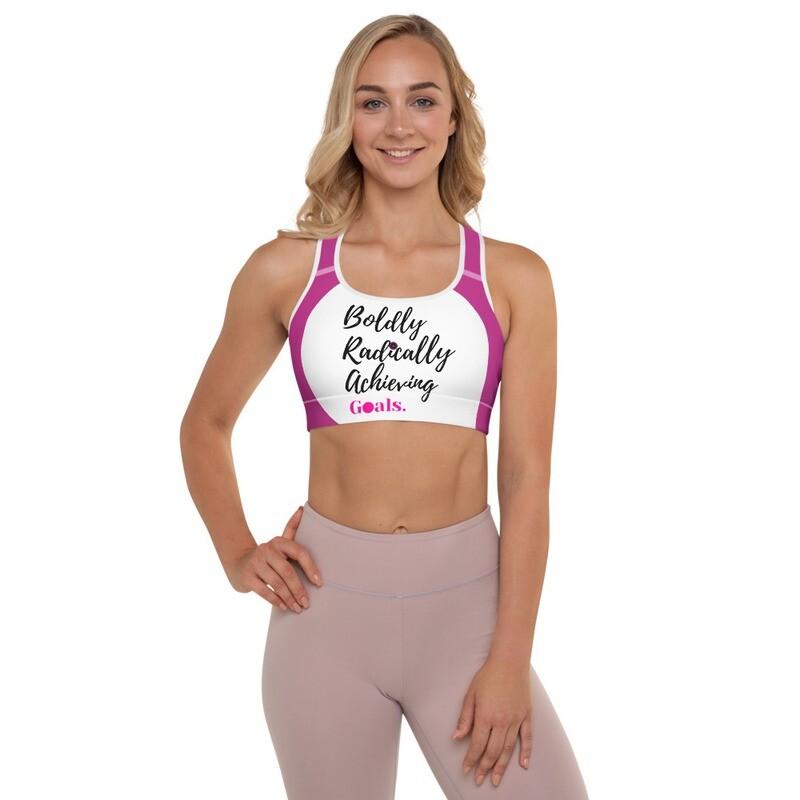 BRAG Bubble Pink Sports-Bra