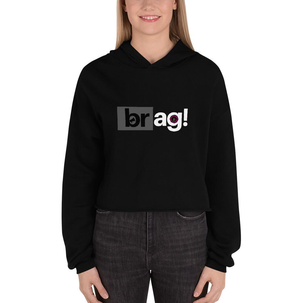 BRAG Basic Women Crop Hoodie