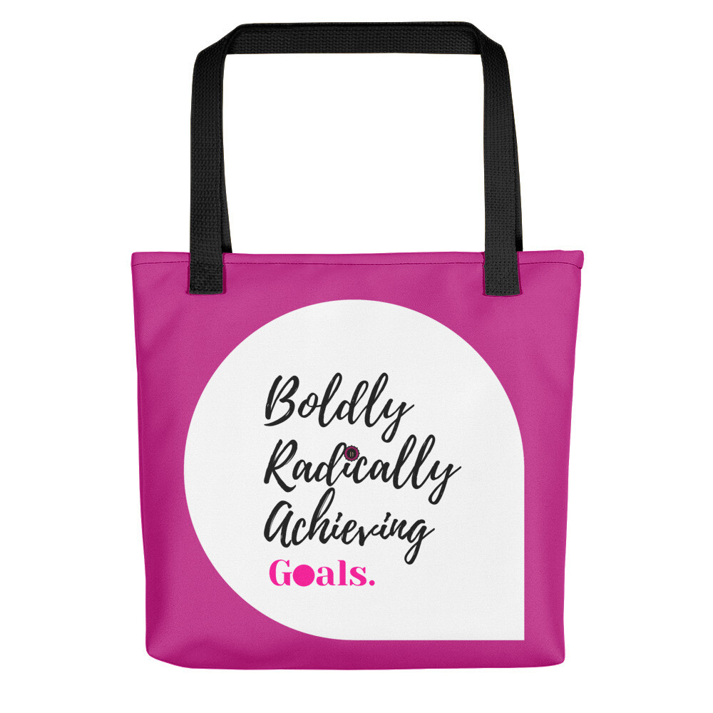 BRAG Acronym Pink Tote bag