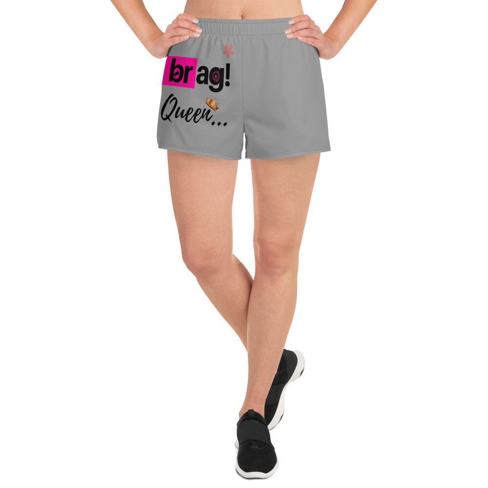 BRAG Queen Women's Athletic Short Shorts