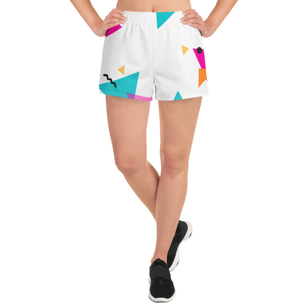BRAG Freedom Women's Athletic Short Shorts