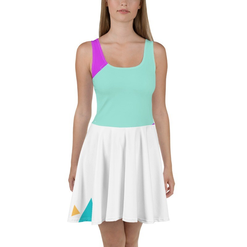 BRAG Freedom Mesh Skater Dress