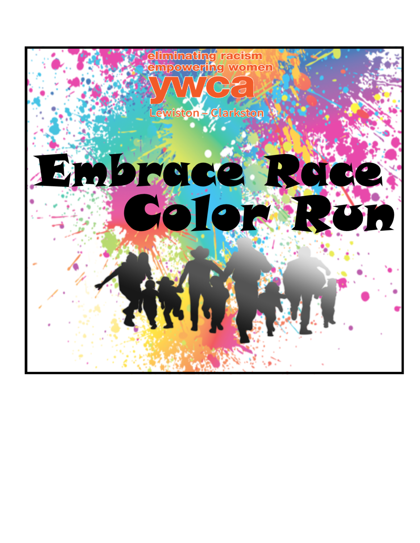 YWCA Embrace Race Color Run Registration