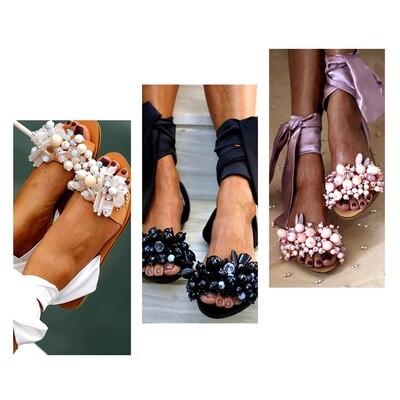 Ribbons N Things Sandals