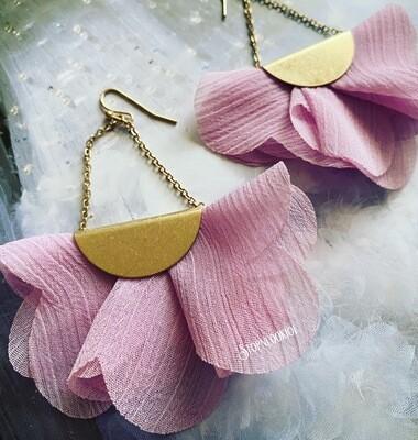 Lightweight Lavender Earrings