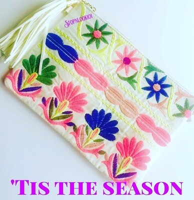 Summer Embroidery Bag