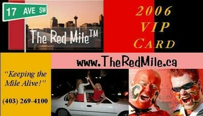 Red Mile VIP Card 2019/2020